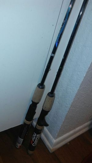 Abu gacia trout baitcaster rods for Sale in Lake Elsinore, CA