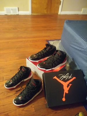 Jordan's size 7 n size 12 4 150 for both pair worn a twice both pair for Sale in Detroit, MI