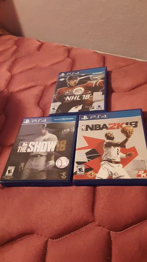Ps4 games for Sale in Dickinson, ND