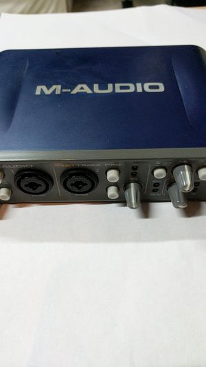 M-AUDIO FAST TRACK PRO. USB Audio Sound Card for Sale in Renton, WA