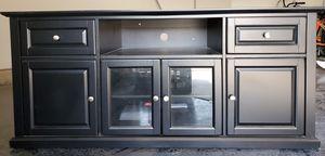 Black Corner TV Stand for Sale in Visalia, CA