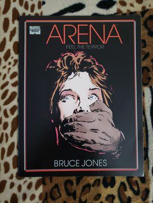 ARENA Feel The Terror Graphic Novel Bruce Jones 1989 #1 for Sale in Hemet, CA