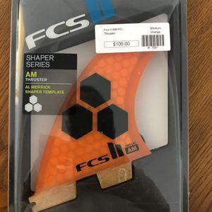 Surfboard Fins FCS AM Medium for Sale in Miami, FL