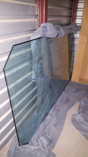 7.5 FT x 4 FT GLASS TABLE TOP for Sale in Payson, AZ