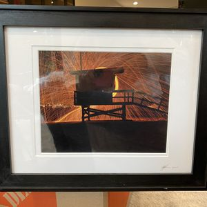 Framed Photograph Of Lifeguard House Venice Beach for Sale in Los Angeles, CA