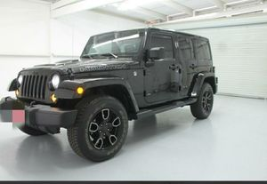 2017 Jeep Wrangler unlimited for Sale in Houston, TX