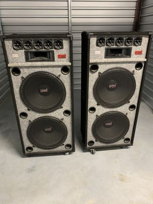 """GMI 15"""" Dual Party Speakers 🔊 🔊 for Sale in Melbourne Village, FL"""