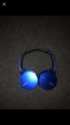 Sony Bluetooth Headphones for Sale in North Attleborough, MA