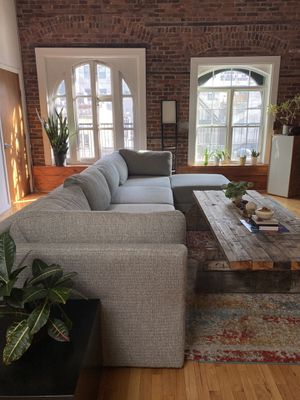 Large Grey Sectional Couch for Sale in New York, NY
