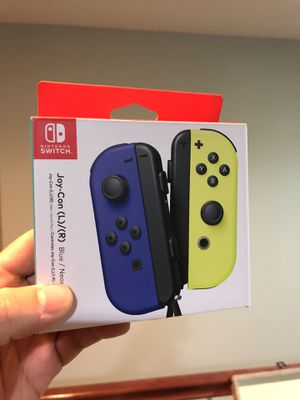 New Nintendo switch joy con firm on price for Sale in Moreno Valley, CA
