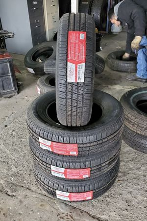 205/70/15 new tires for $340 with balance and installation we also finance {contact info removed} ask for Dorian 7637 airline dr houston TX 77037 for Sale in Houston, TX