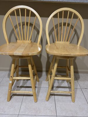 2 Bar stool chairs for Sale in Tamarac, FL