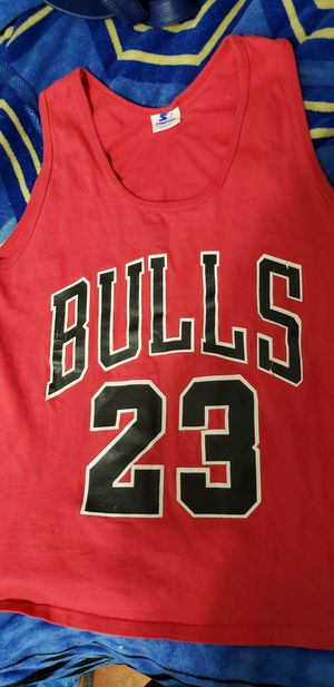 Starter micheal jordan 90s tank top size M/L $60 for Sale in Los Angeles, CA