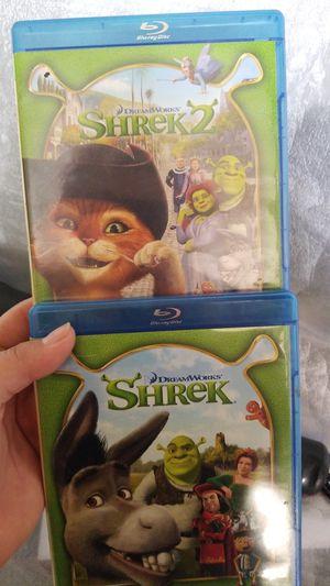 Blu-ray shrek 1&2 for Sale in Perris, CA