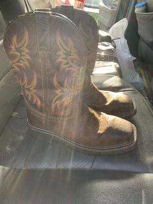 Justin work boots size 6 for Sale in Lehigh Acres, FL