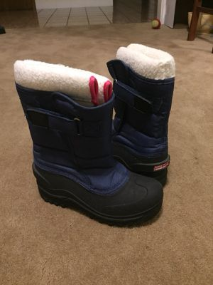 Mini Boden Girls Snow Boots (size 3) for Sale in Danville, CA