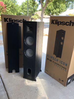 Klipsch KF-28 Floorspeakers (Pair) for Sale in Fresno, CA