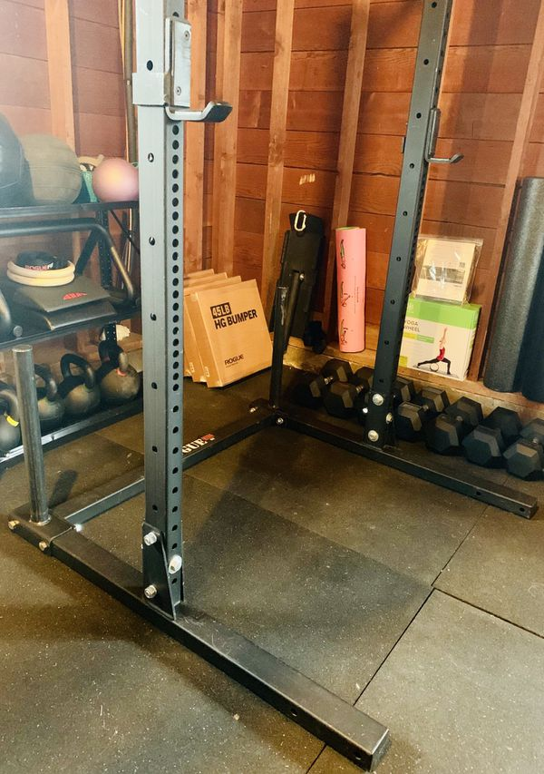 Rogue fitness s squat stand base plate storage crossfit
