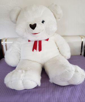 Huge White Teddy Bear for Sale in Plantation, FL