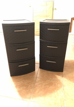 Sterlite Plastic Storage Drawers for Sale in New York, NY