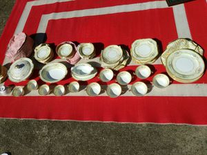 Vintage antique service for 5 plus a few extras Noritake porcelain china for Sale in Knoxville, TN