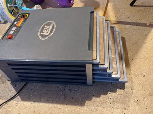 LEM 5-Tray Dehydrator with Digital Timer Aluminum and Polymer for Sale in Lynnwood, WA