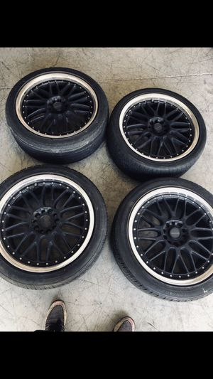 TENZO RACING WHEELS 18 INCH (V2 MEISTER) for Sale in Los Angeles, CA