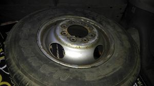 8 lug dodge dually wheel and tire for Sale in Halethorpe, MD
