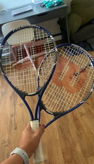 """21"""" junior tennis rackets (2) for Sale in West Covina, CA"""