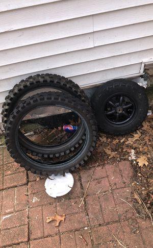Dirt bike rear tires for Sale in Swampscott, MA