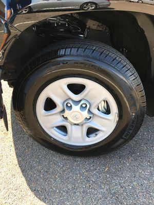 Toyota Tacoma rims and tires brand new for Sale in Cordova, TN