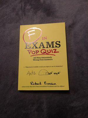 F in Exams: Pop Quiz by Richard Benson for Sale in Arroyo Grande, CA