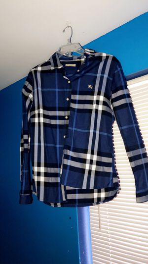 Burberry flannel for Sale in Mount Vernon, WA