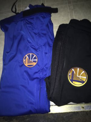 Warriors NBA Authentic- Zipway /Therma On Court - Warriors Sweatpants - for Sale in Oakland, CA