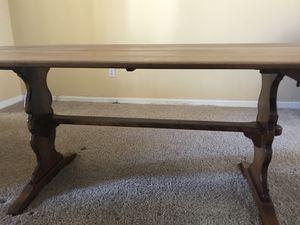 Antique CUSHMAN Colonial Trestle Table for Sale in Orlando, FL