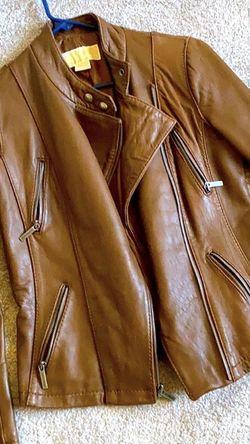 Michael Kors leather Moto jacket for Sale in San Antonio,  TX
