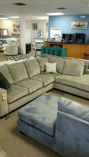 🍻🍾 $39 Down Payment 🕊 SPECIAL] Altari Alloy RAF And LAF Sectional 144 for Sale in Jessup, MD