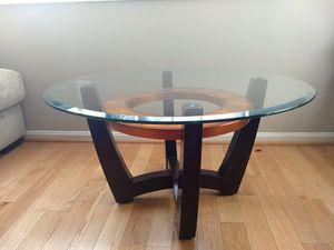Glass coffee table for Sale in Alexandria, VA