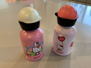 2xSIGG HELLO KITTY water bottles - some dents for Sale in Bellevue, WA