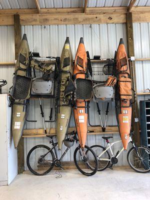 Two Cabelas single man XT pontoon boat for Sale in Fairmount, GA