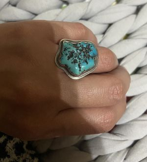 Large turquoise sterling silver ring for Sale in Fort Worth, TX