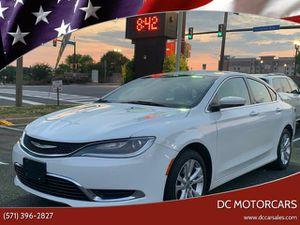 2015 Chrysler 200 for Sale in Springfield, VA