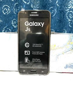 Samsung Galaxy J5 Unlocked Phone for Sale in Queens,  NY