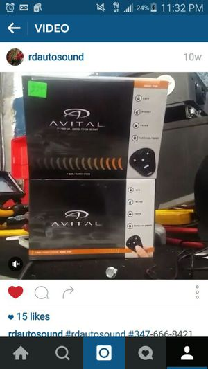 Used, Car alarm avtel for Sale for sale  Queens, NY