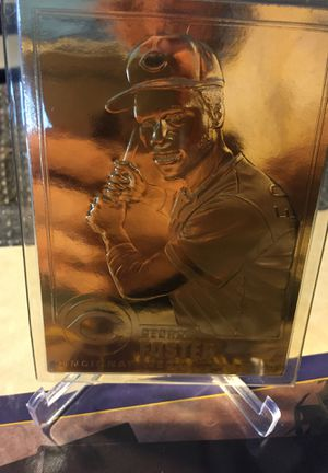 22 karat gold George Foster baseball card authorized by mlb for Sale in Sterling Heights, MI