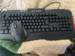 Rgb gaming keyboard and mouse for Sale in Fountain, NC