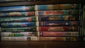Classic Disney VHS tapes for Sale in Delta, CO