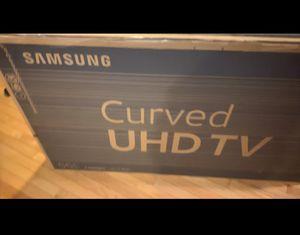 "Samsung Curved UHD TV 55"" for Sale in Reston, VA"