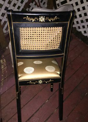 Chinese or Japanese wooden chair for Sale in Portland, OR