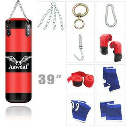 "Heavy Boxing Punching Bag Training Gloves Speed Set 39"" for Sale in Los Angeles,  CA"